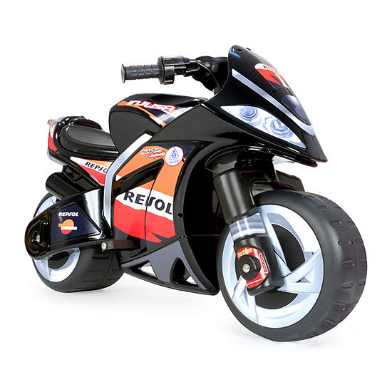 Injusa Repsol 6v Kids Battery Powered Ride On Motorcycle
