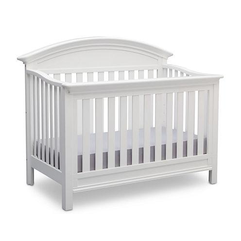 Delta Children's Products™ Aberdeen 4-in-1 Convertible Crib - Bianca White