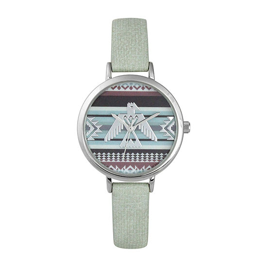 Decree Womens Green Strap Watch-Pt5289svmt