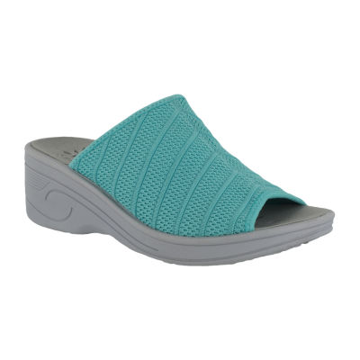 Easy Street Airy Womens Slide Sandals