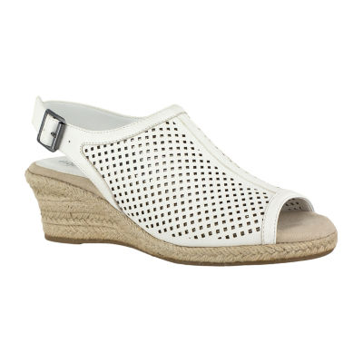 Easy Street Stacy Womens Strap Sandals Extra Wide