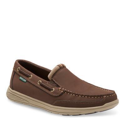 Eastland Mens Brentwood Boat Shoes Slip-on