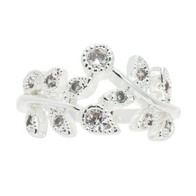Sparkle Allure Womens 3/4 CT. T.W. Clear Cocktail Ring