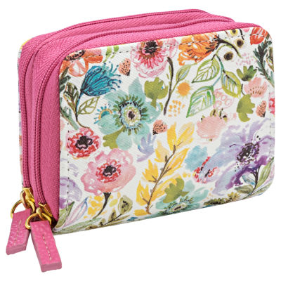 Buxton Wiz Wallet Accordian Wallet