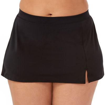 St. John's Bay Swim Skirt-Plus