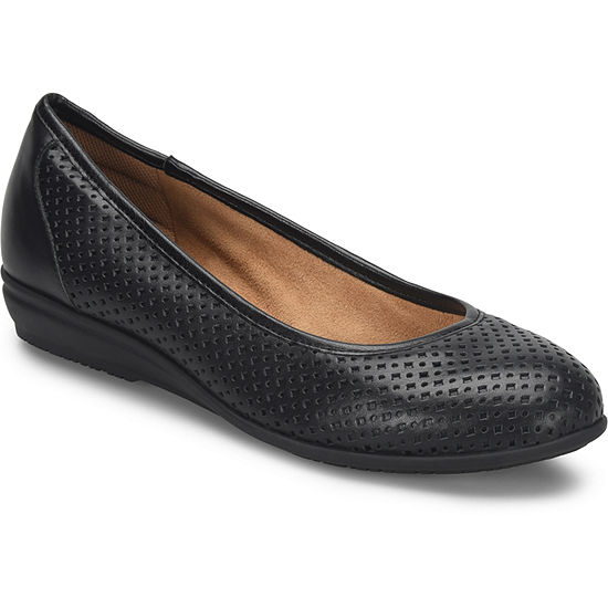 Comfortiva Womens Electra Ballet Flats Closed Toe