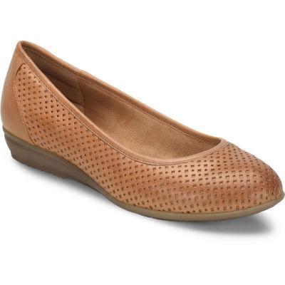 Comfortiva Womens Electra Ballet Flats Slip-on Closed Toe