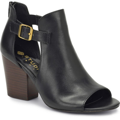 Studio Isola Womens Lillith Shooties Zip Peep Toe