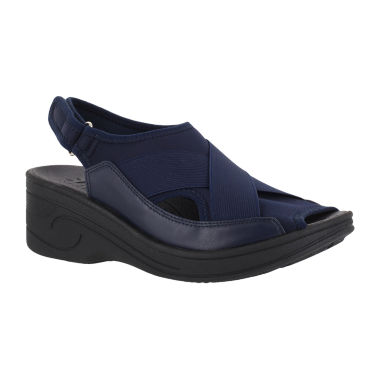 Easy Street Delight Womens Wedge Sandals