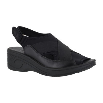 Easy Street Delight Womens Wedge Sandals
