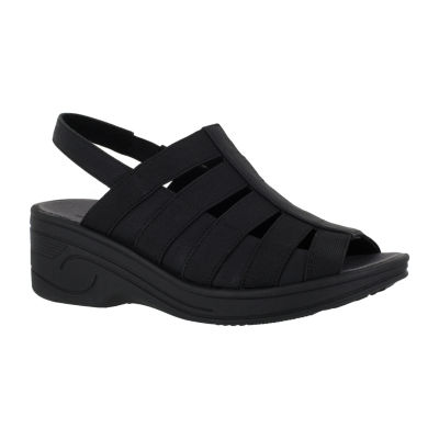 Easy Street Floaty Womens Wedge Sandals