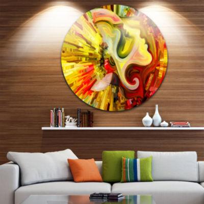 Design Art Beyond Inner Paint Abstract Metal Artwork