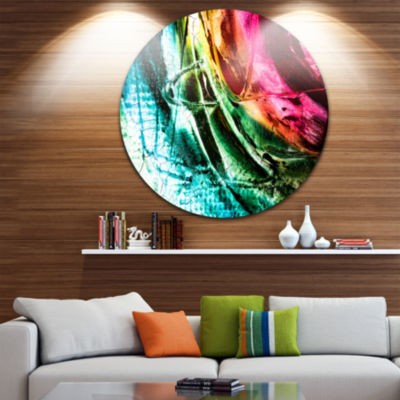 Design Art Abstract Buddha Buddhism Abstract MetalCircle Wall Art
