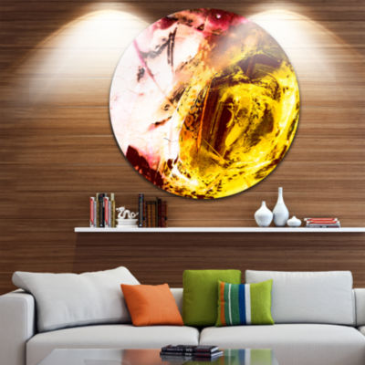 Design Art Abstract Structure Art Abstract Metal Circle Wall Art