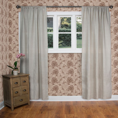 Rizzy Home Avery Solid Linen Window Panel