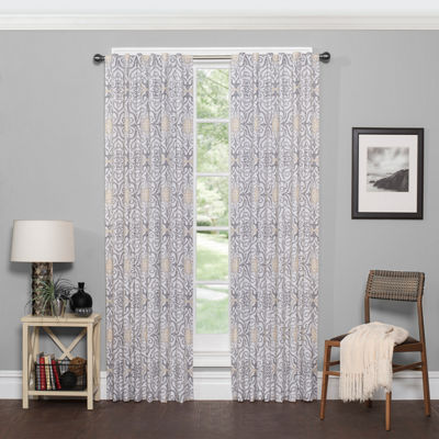 Vue Dowling Rod-Pocket Curtain Panel