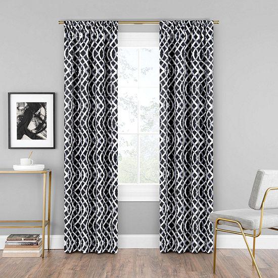 Eclipse Alperton Blackout Rod-Pocket Curtain Panel