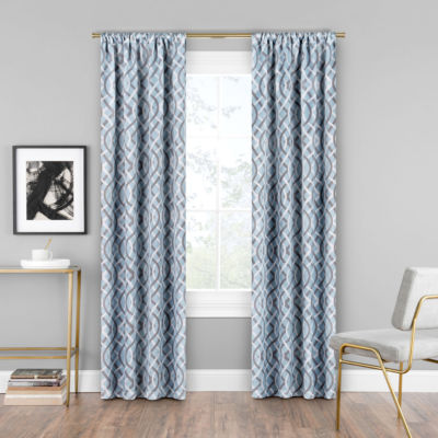 Eclipse Alperton Blackout Rod-Pocket Curtain Panel