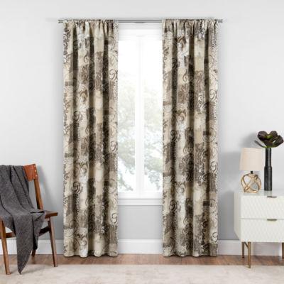 Eclipse® Chiswick Blackout Rod-Pocket Curtain Panel