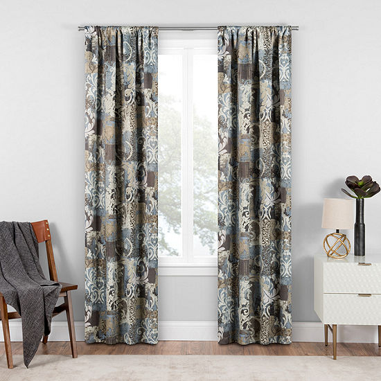 Eclipse® Chiswick Blackout Rod-Pocket Curtain Panel