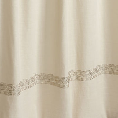 Rizzy Home Mae Cotton Stripe Shower Curtain
