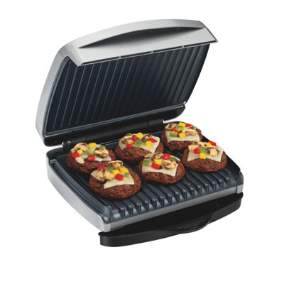 Proctor-Silex® 90 Sq.Inch Indoor Grill with Removable Plates