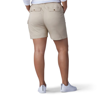 "Lee® Myra 7"" Twill Cargo Short - Plus"