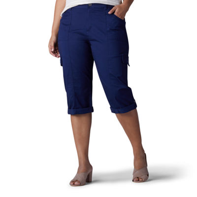 Lee® Cuffed Leg Skye Relaxed Twill Skimmer - Plus