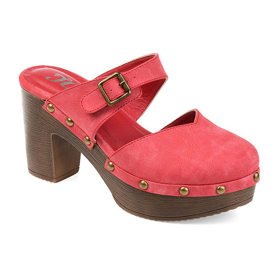 Journee Collection Womens Saige Clogs Slip-on Round Toe