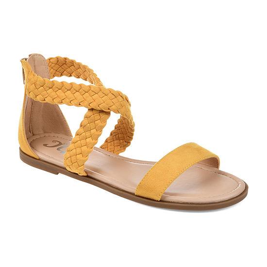 Journee Collection Womens Lucinda Flat Sandals