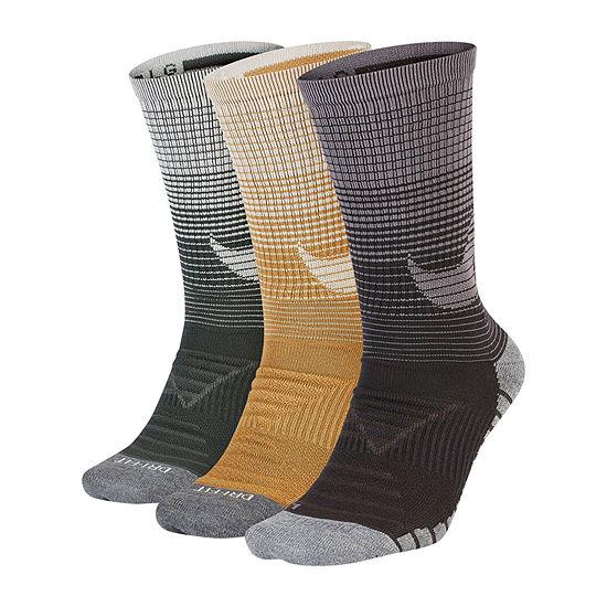 Nike Every Day 3 Pair Crew Socks-Mens