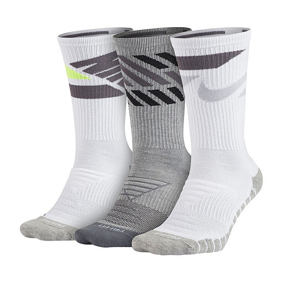 Nike Every Day Max 3 Pair Cushion Crew Socks-Mens