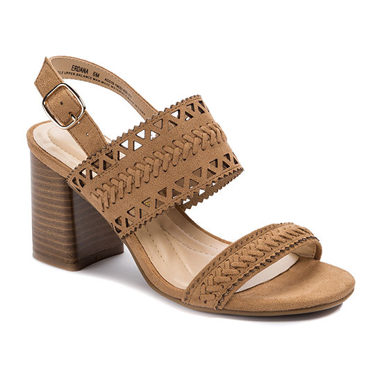 Andrew Geller Womens Erdana Heeled Sandals