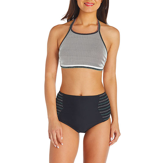 f9716687ca8c3 Arizona High Neck Swimsuit Top or Swimsuit Bottom-Juniors - JCPenney