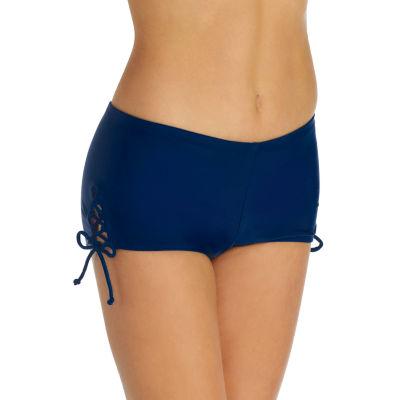 Arizona Boyshort Swimsuit Bottom-Juniors