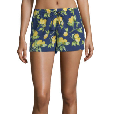 City Streets Swimsuit Cover-Up Shorts-Juniors