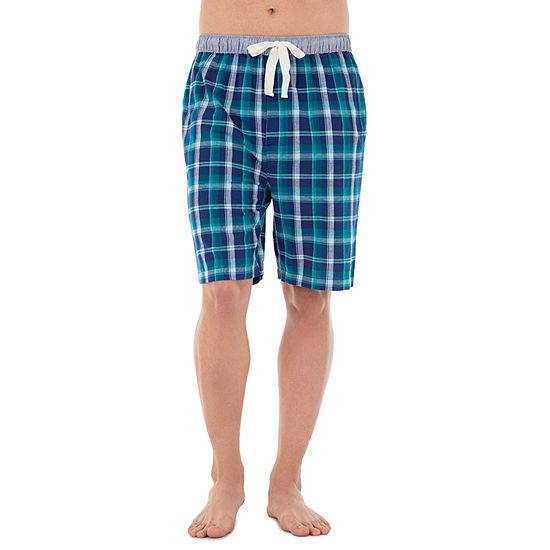 Izod Woven Broadcloth Pajama Shorts Mens