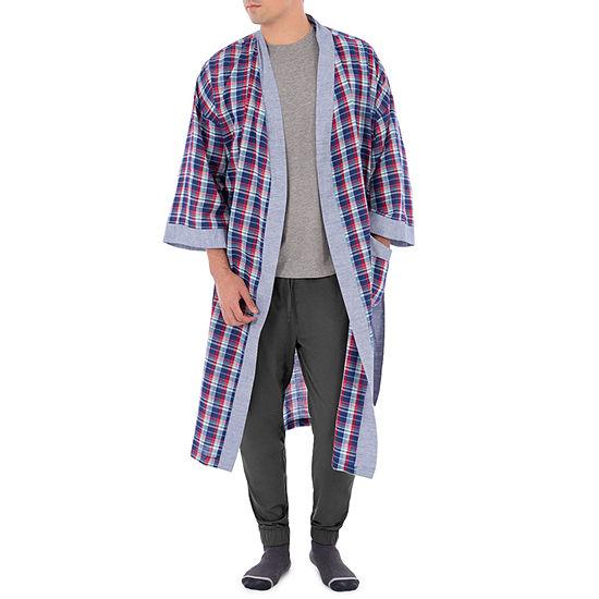 IZOD 3/4 Sleeve Kimono Robes-Big