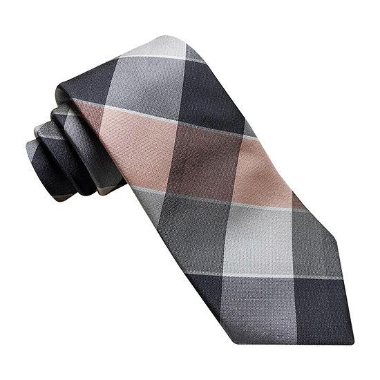 Stafford Buffalo Plaid Tie