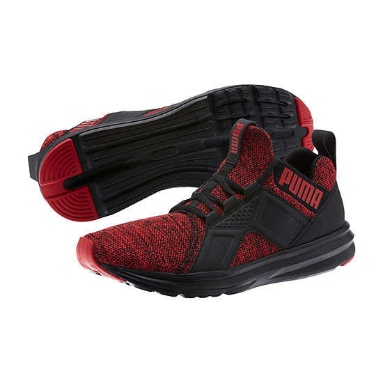 Puma Enzo Mens Lace Up Running Shoes