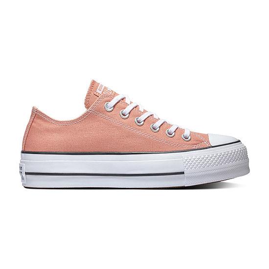 szczegółowe zdjęcia przemyślenia na temat wyprzedaż hurtowa Converse Chuck Taylor All Star Lift Ox Womens Sneakers Lace-up