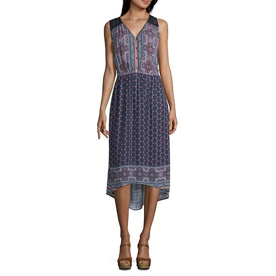 Artesia Sleeveless Trapeze Dress