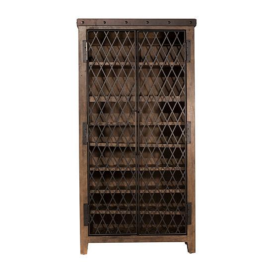 Hillsdale House Jennings Wine Cabinet