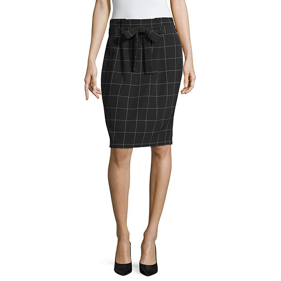 Liz Claiborne Tie Waist Pencil Skirt