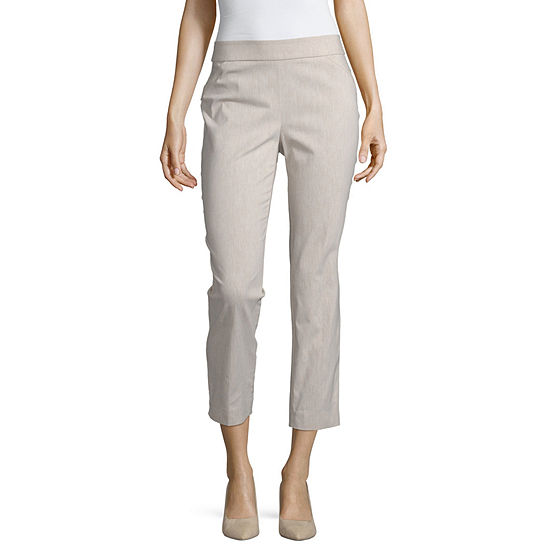 Liz Claiborne Liz Claiborne Womens Straight Pull On Pants