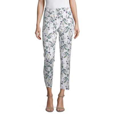 Liz Claiborne Spring Bouquet Womens Ankle Pant