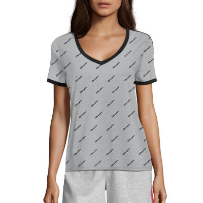 Champion-Womens Heritage All Over Print Tee
