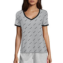 40646661 Champion-Womens Heritage All Over Print Tee - JCPenney