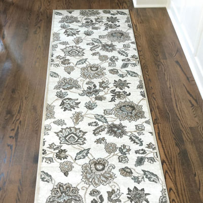 Pisa Floral Traditional Area Rug