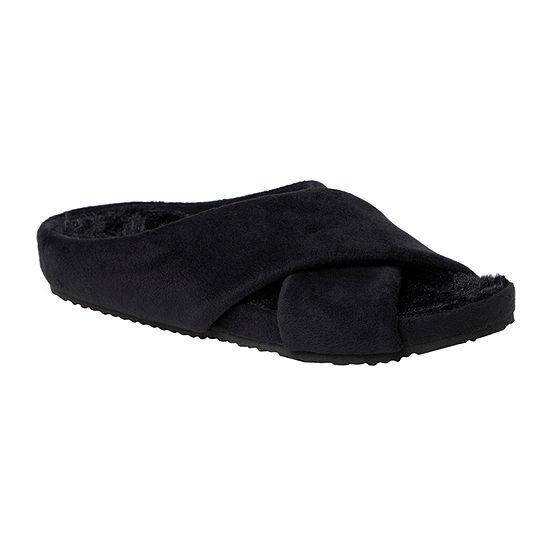 Dearfoams Maeve Womens Slip-On Slippers